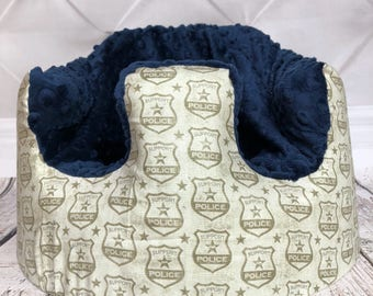 Police Bumbo Seat Cover