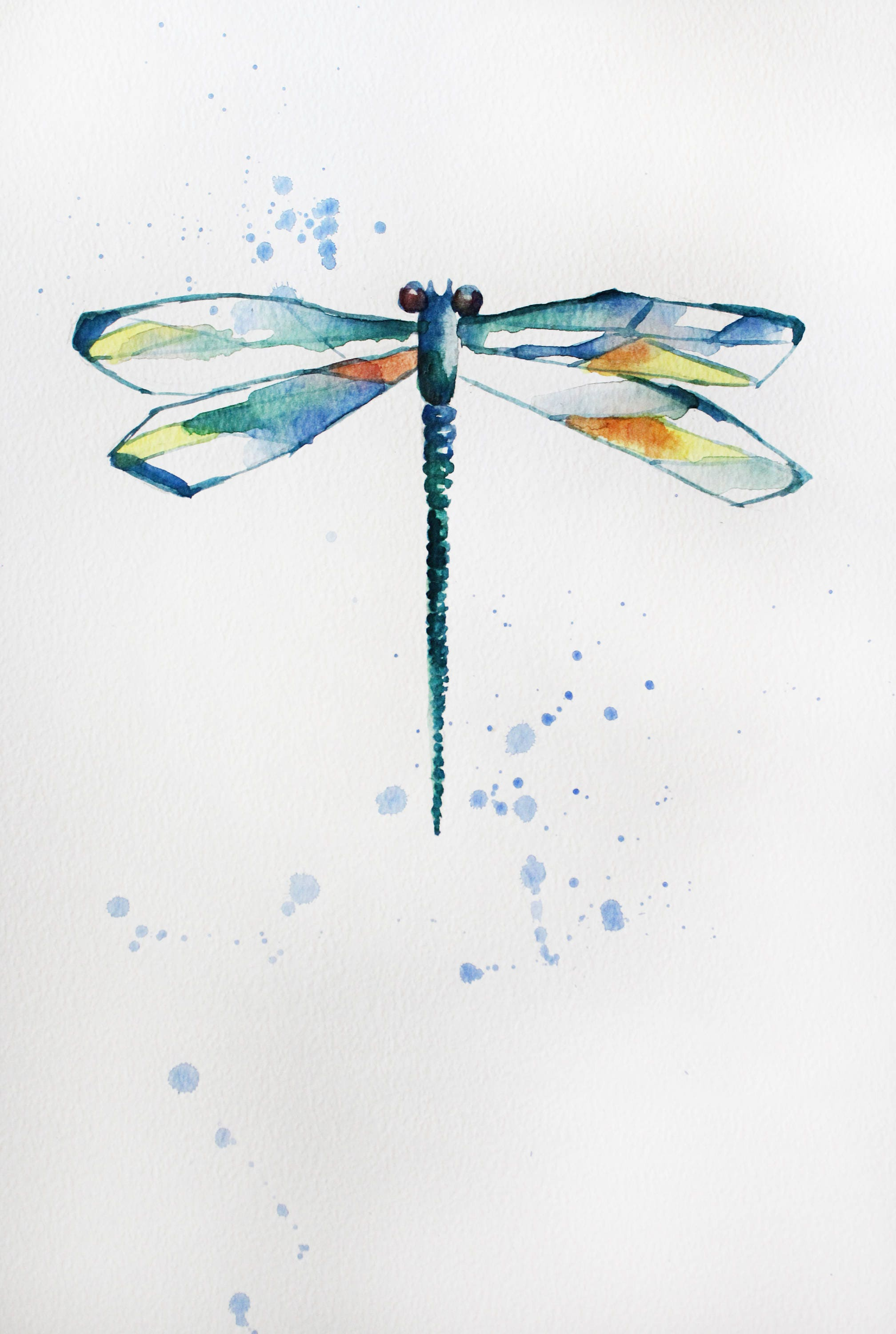 Dragonfly home decor most in demand home design for Dragonfly mural