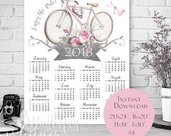 downloadable 2018 calendars