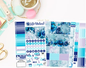 Sapphire Deluxe Kit, planner stickers