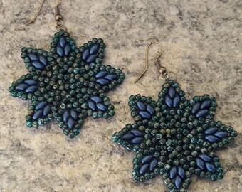 Star Beads Earrings