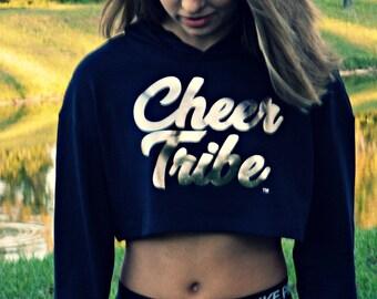 Cheer Tribe TM Cropped Hoodie