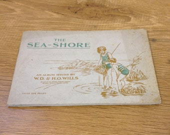Vintage Complete - The Seashore John Player And Sons Cigarette Cards. Tobacciana. In Good Condition