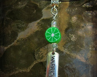 Lyme Warrior Ribbon Necklace