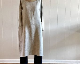 Organic clothing,Natural Linen,women linen dress,Sustainable clothing, Linen dress,Eco conscious,Hand dyed clothing, Naturally dyed
