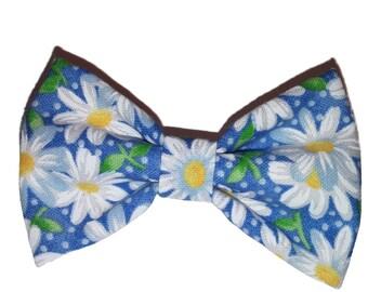 Dog Bow Tie - Daisy Bow Tie - Bow Tie For Dog - Bow Tie -  Handmade Dog Bow Tie