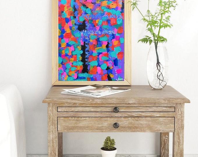 """Daises"" Acrylic on Canvas 11 x 14 in"