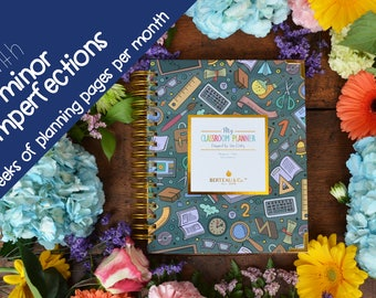 Minor Imperfections Dream Cover w/4 weeks of planning pages p/month