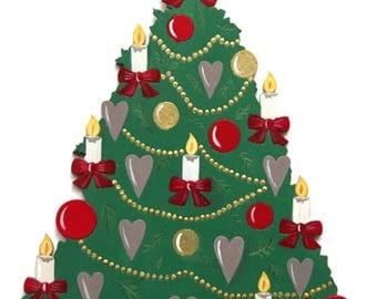 Christmas tree ornement