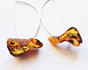 Baltic Amber earrings 4.6g