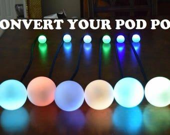 LED Contact Poi Kit! (Read item description!)