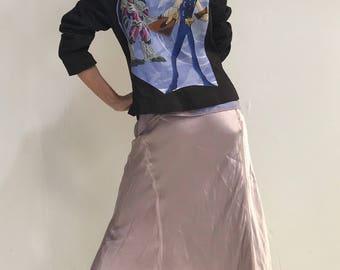 Yu-Gi-Oh Top- Yu-Gi-Oh Blazer- Japanese Anime- Manga- Asian Street Fashion- Eco Clothing- Vintage 1996 Yu-Gi-Oh Fabric- Size 8