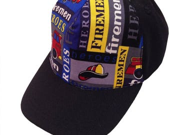 Fireman Ball Cap/Toddler Size