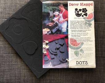 D.O.T.S. Melon Madness Rubber Decor Stamps