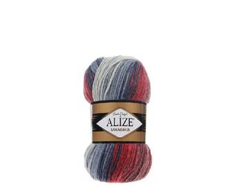ALİZE Lanagold Batik Yarn, Hand Knitting Yarn, Turkish Yarn