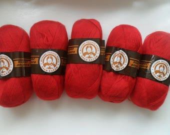 Oren Bayan Madame Tricote Paris Super Angora Yarn, Hand Knitting Yarn, Turkish Yarn