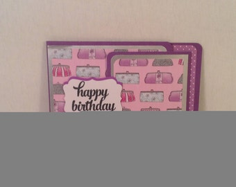PURSE LOVERS GIFT Card Holder