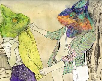 Spirit Animals - Chameleons