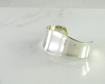 Mexican Wide Sterling Cuff