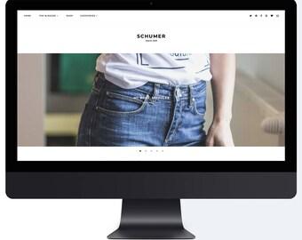 Schumer | Responsive Blogger Template + Free Installation