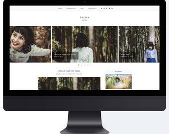 Tulisa | Responsive Blogger Template + Free Installation