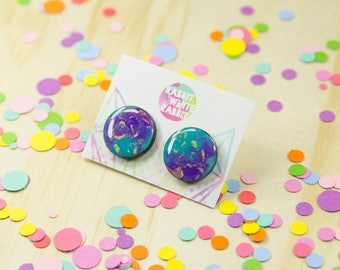 Crab Nebula Statement Studs