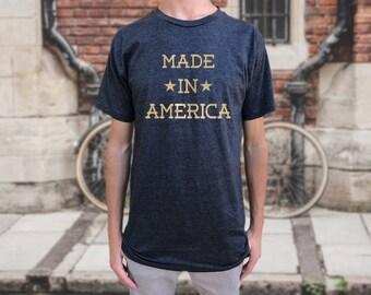 Made in America T-shirt. Men's