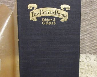 Book of Poetry, c1919; Antiquarian Book;American Poetry Book