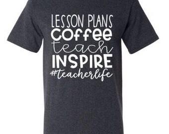 Custom #Teacherlife Tee