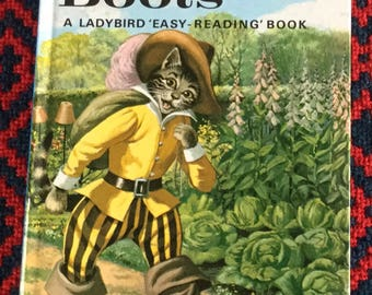 Vintage Ladybird Book Puss in Boots