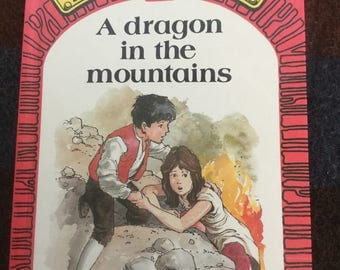 Puddle Lane Ladybird book - A Dragon in the Mountains