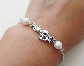Silver Squid Bracelet | Silver Squid Anklet