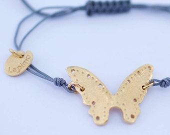 Sterling Gold 18Kts-NURU-Handmade sterling silver bracelet