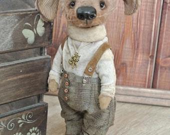 Robin - dog teddy