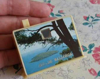 1970's Souvenir Mallorca Slide Viewer Camera - Simple Plastic Holiday Snap Viewer