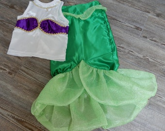 Ariel Costume/Little Mermaid Costume/Mermaid Costume/Ariel Outfit/3 sizes available