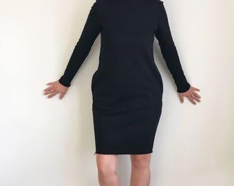 black dresses, sweatshirt dress, comfy dress, oversized sweatshirts, womens casual dresses, sweater dress, oversized sweater dress