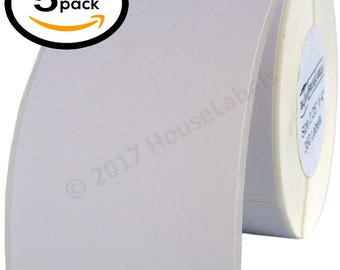 "5 Rolls / 350 Labels each - 2.25x4 (2.25"" x 4"") Direct Thermal Zebra Eltron Labels"