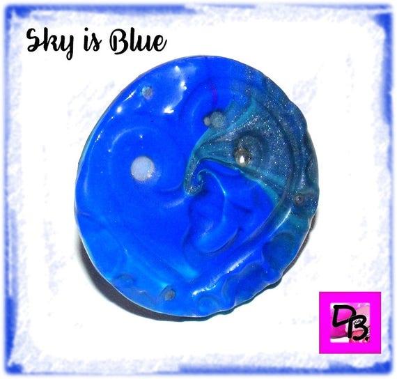 Bague Fimo [Sky is Blue]