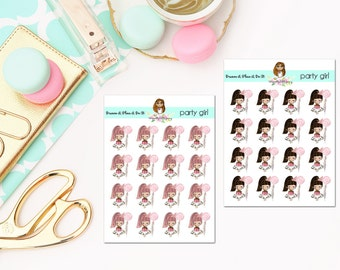 Party Planner Stickers