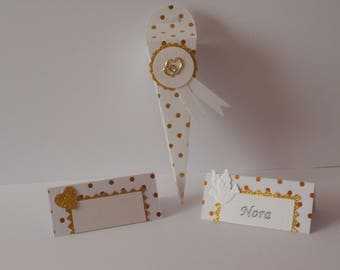 Personalized place cards - wedding