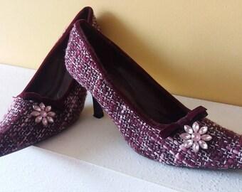 Vintage heels size 5 1/2 UK,  7 US