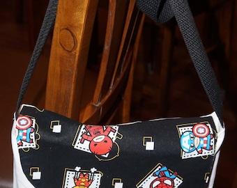 Kawaii Marvel Heroes Messenger Bag