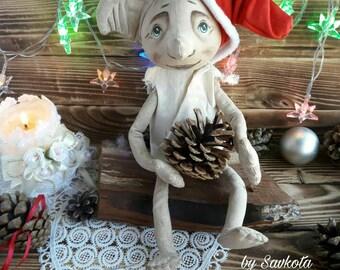 Christmas tree topper Dobby The House Elf (Harry Potter) 13 inches/ dobby house-elf / Harry Potter gift idea
