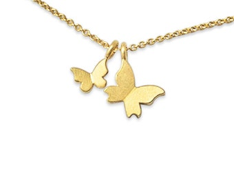 noble birth, high quality 750 gold mother necklace gift