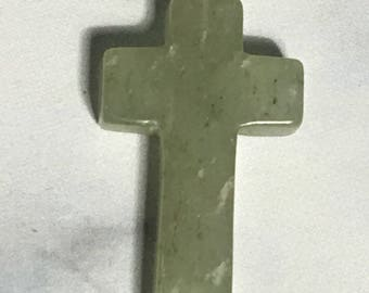 Variscite Stone Cross pendant