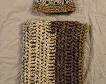 Scarf and Hat set