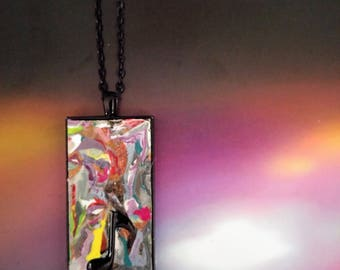 Abstract Eighth Note Music Lover/Musician's Pendant