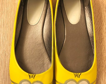 Hand Painted Minion Flats