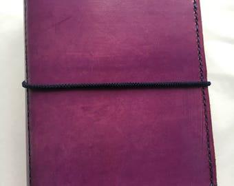 Pocket/ Field Notes Travellers Notebook / handmade Traveler's Notebook / Journal Cover / Midori / bullet journal / Uglydori / Fauxdori